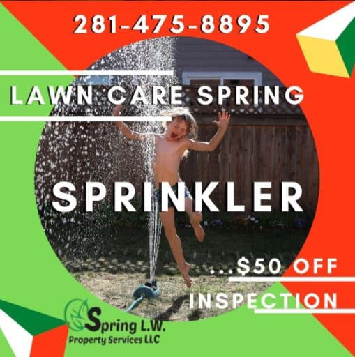 lawn sprinkler repair spring tx